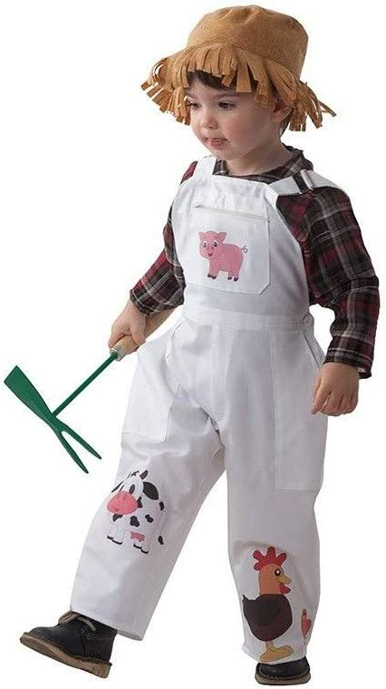 DISBACANAL Disfraz Granjero niño - -, 24 Meses