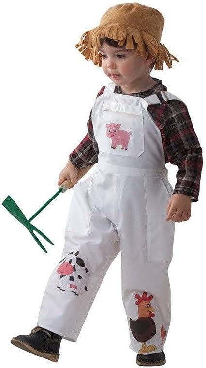 DISBACANAL Disfraz Granjero niño - -, 24 Meses: Amazon.es ...