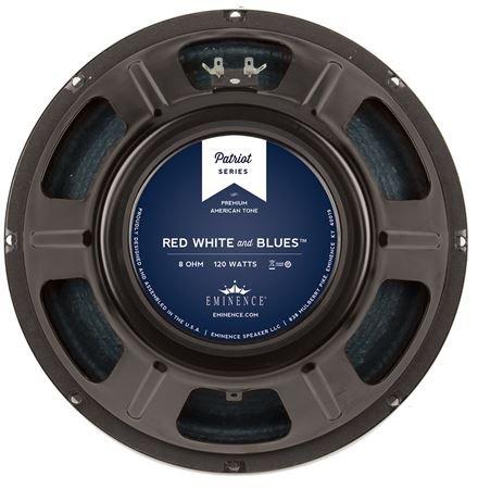 - Eminence Patriot Red White & Blues 12 Inch Guitar Speaker 120 Watts