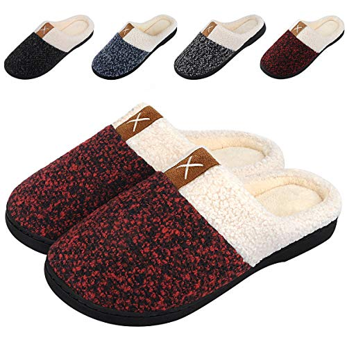 women s memory foam slippers comfort wool