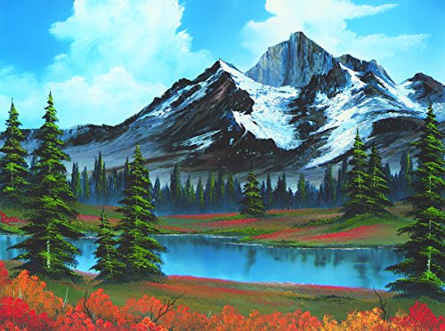 Wellspring Bob Ross The Joy Of Puzzles, Spring 500 Piece Jigsaw Puzzle -