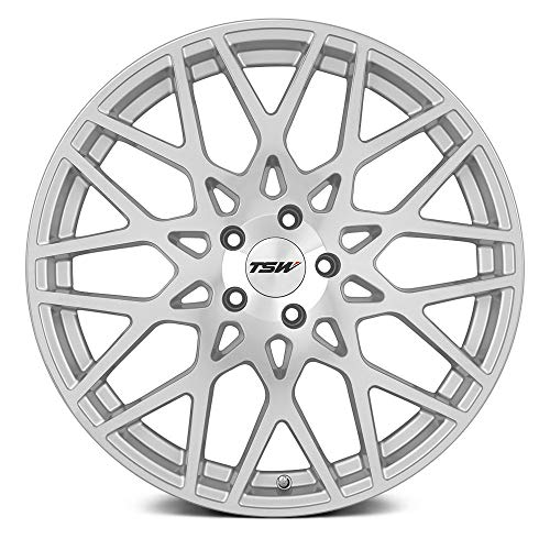 TSW VALE Silver Wheel with Painted Finish (20 x 8.5 inches /5 x 108 mm, 40 mm Offset)