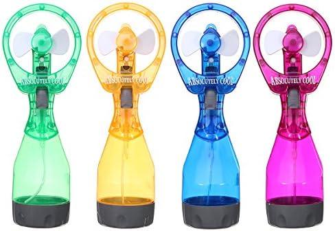 LaDicha Portátil Mini Mano Cool Agua Spray Nebulización Ventilador ...