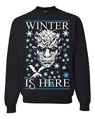 Winter is Here Game of Thrones Ugly Christmas Sweater Unisex Sweatshirt