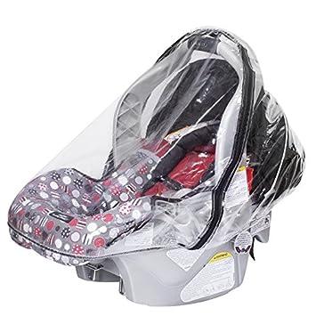 Amazon.com: Infant Carrier Car Seat Rain & Weather Sheild Plastic ...