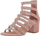 Steve Madden Women's Mania Heeled Sandal, Blush Multi, 9 M US