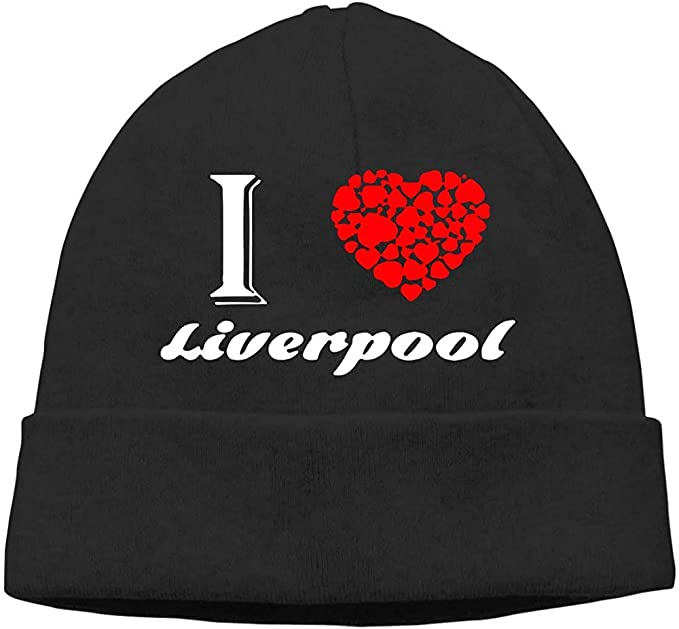 H.D. Gorros Beanies Hat-Les Hombres y Mujeres Je Aime Liverpool ...
