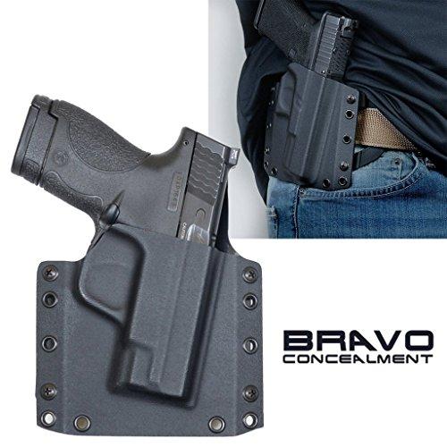 Bravo Concealment S&W M&P Shield 2.0 9mm/40sw OWB Gun Holster