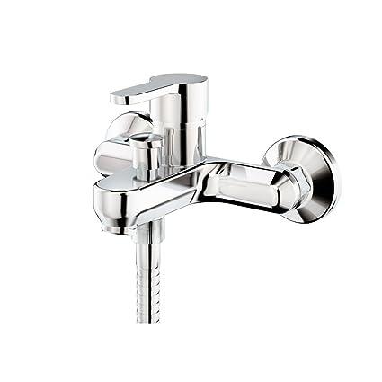 Galindo Zip Plus 2141000 grifo baño-ducha monomando cromo con accesorios de ducha