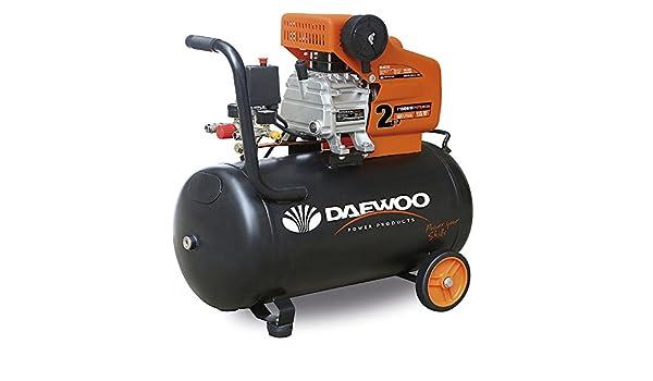 Daewoo DAC50D - Compresor Eléctrico 1.5 HP, 240 V, 50 L: Amazon.es: Bricolaje y herramientas