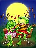 Caroline's Treasures APH0522GF Frog Love Songs Garden Flag - Best Reviews Guide