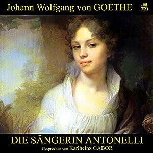 Die Sängerin Antonelli Hörbuch