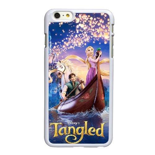 R2E86 Tangled Y3W7ZS coque iPhone 6 Plus de 5,5 pouces cas de couverture de téléphone portable coque blanche IF6EWP1IS