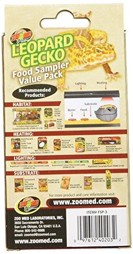 Picture of Zoo Med Laboratories SZMFSP3 Leopard Gecko Food Sampler