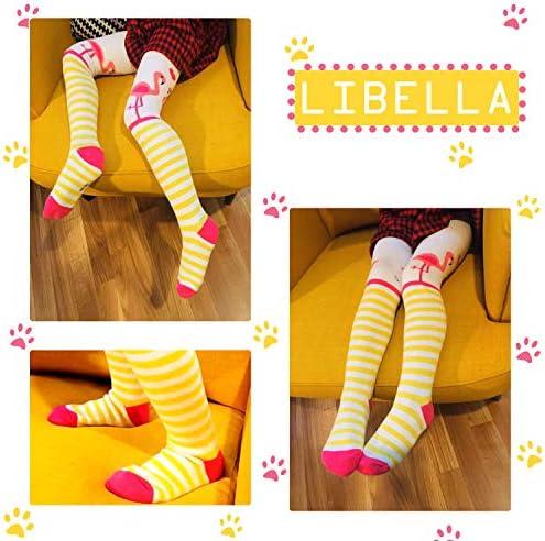 Libella Set di 3//6 Collant termici bambina Flamingo Terry Bambino bambini Misto cotone multicolore 27247 76-128