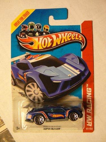 (Hot Wheels HW Racing 107/250 Super Blitzen on Card Variant)