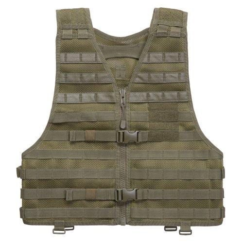 Tactical 5.11 Nylon Vest (5.11 Tactical LBE Vest Talc OD, XX-Large+)