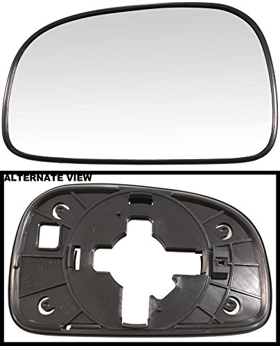 apdty-67765-replacement-left-side-view-mirror-glass-fits-driver-side-2005-2006-hyundai-sante-fe-mode