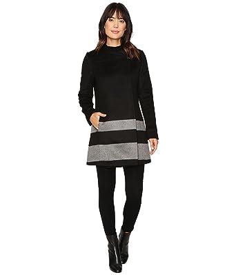 76a7444eee018 LAUREN RALPH LAUREN Womens Fall Wool Blend Wrap Coat Black XL at Amazon  Women s Coats Shop