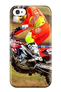 AnnaSanders Iphone 4/4s Hybrid Tpu Case Cover Silicon Bumper Artistic Motocross For Computer