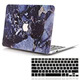 Lykoko Marble Design Plastic Hard Case with Keyboard Cover for MacBook Retina Pro 13 Inch (Models: A1425 and A1502) NO CDROM