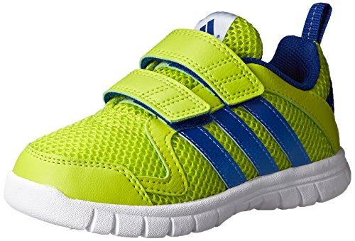 adidas Performance STA Fluid 3 CF I Infant 2 strap Shoe, Semi Solar Yellow/Royal/White, 5.5 M US Toddler