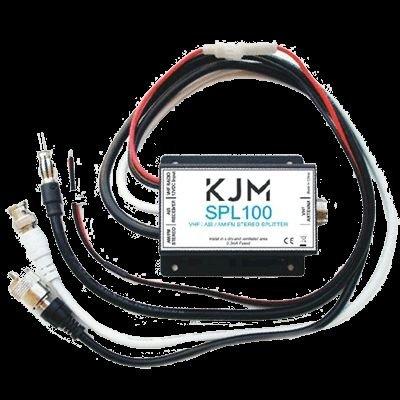 KJM Vhf (TX/RX) AIS & AM/FM (RX) Splitter by KJM