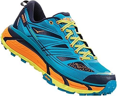 Hoka One - Zapatillas de Running de sintético, Tela para Hombre Azul Caribbean Sea Autumn Glory US 10, Color Azul, Talla 48 EU: Amazon.es: Zapatos y complementos