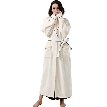fd0784083c31 SEX Ladies Pajamas Autumn And Winter Long Sleeves Thicken Flannel Bathrobes