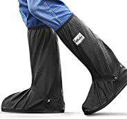 Shoe Covers Reusable Waterproof for Men Women, Rain Snow Shoe Covers, Non Slip Shoe Protector for Cycling Fish