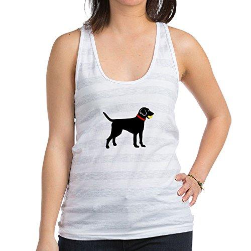 Racerback Cab (CafePress - Labrador Fetch - Womens Racerback Tank Top, Stylish Cotton Sports Tank)