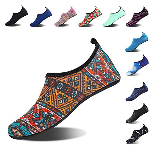 Surf Dry Shoes Water Pool Spotrs Shoes Swim Yoga 02 Multicolor Diving Beach Socks Barefoot for Quick Aqua Womens Snorkeling Mens AqYvv