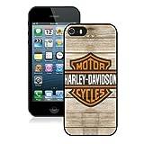 Harleydavidson Logo 5 Black Shell Case for iPhone 5 5S,Fashion Cover