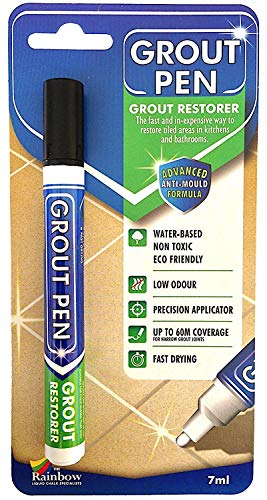 - Grout Pen Black - Ideal to Restore the Look of Tile Grout Lines