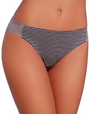 Women's Comfort Tanga Thong Panty