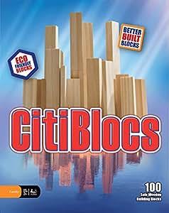 CitiBlocs 100-Piece Natural-Colored Building Blocks