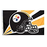 Five Star Flags New Pittsburgh Steelers Flag, Steelers Flag, Flag for Indoor or Outdoor Use, 100% Polyester, 3 x 5 Feet. Review