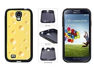 Block of Swiss Cheese TPU RUBBER Phone Case Back Cover Samsung Galaxy S4 I9500 wangjiang maoyi by lolosakes