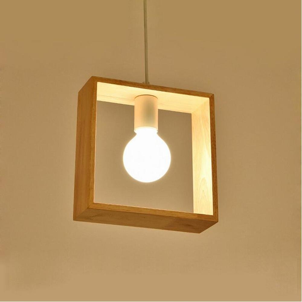 TQ Nordic modernen minimalistischen Holz Pendelleuchten Gang Korridor Restaurant Bar Pendelleuchte kreative Holzlampen, Set