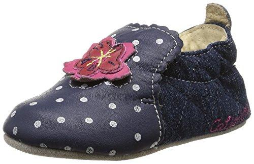 Catimini Coudou - Zapatos para bebes Bebé-Niñas Azul (vts bleu/jeans dpf/souple)