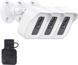 Blink XT2 Outdoor Camera Wall Mount Bracket, 3 Pack Blink Camera Outdoor Weatherproof Housing and 360 Degree Adjustable Mount with Blink Sync Module Outlet Mount Indoor Home Security Camera System