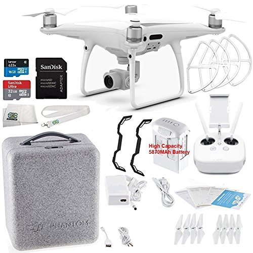 DJI Phantom 4 PRO Quadcopter Starters Bundle by DJI