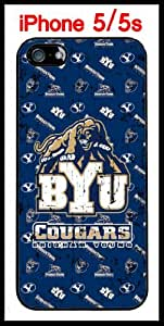 Brigham Young University NCAA BYU Cougars Case for iPhone 5 5s Case Hard Silicone Case