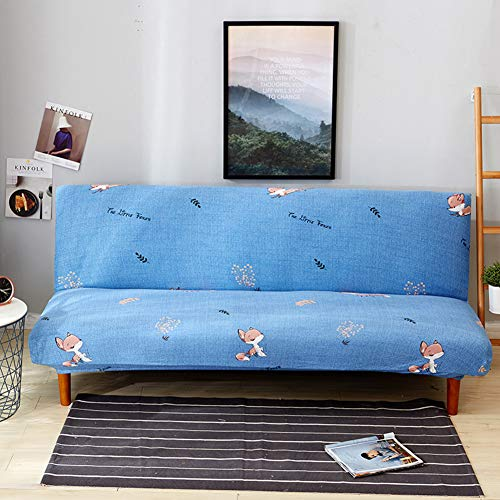 Amazon.com: YQ WHJB Armless Sofa Bed Cover,Futon slipcover ...