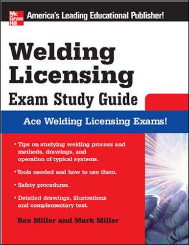 Welding Licensing Exam Study Guide (McGraw-Hill's Welding Licensing Exam Study Guide) (Brand Licensing)
