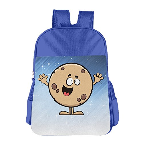 Ongshuquwe Cookie Leisure Children Cute Cartoon Schoolbag RoyalBlue (Cookie Bouquet Australia)