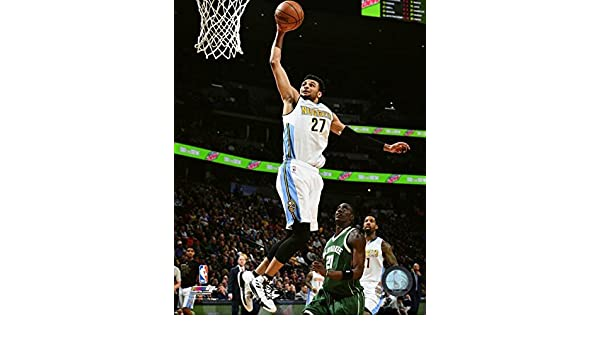 Amazon.com: Jamal Murray Denver Nuggets NBA Action Photo (Size: 8