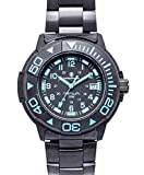 Smith & Wesson Men's SWW-900-BLU Diver Swiss Tritium Black Dial Stainless Steel