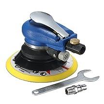 Jeteven 6'' Air Random Orbital Sander Pneumatic Disc Polisher Hand Power Grinding Sanding Tool Kit with Wrench
