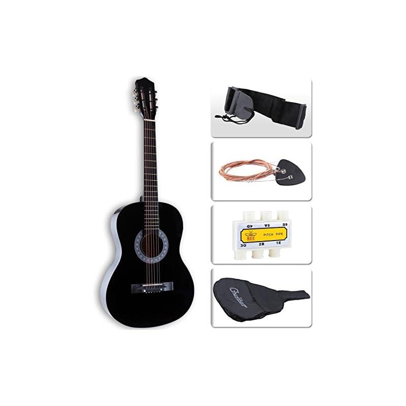 """LAGRIMA 38"""" Acoustic Guitars, Cutaway De"""